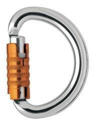 Multi-directional semi-circle carabiner Omni Triact-Lock
