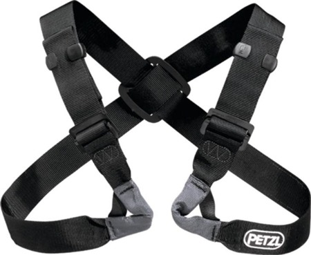 Adjustable chest harness for seat harness Voltige